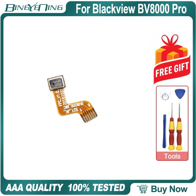 100% nuevo micrófono Original para Blackview BV8000 Pro Mic flex cable BV8000 Smartphone reparación accesorios piezas