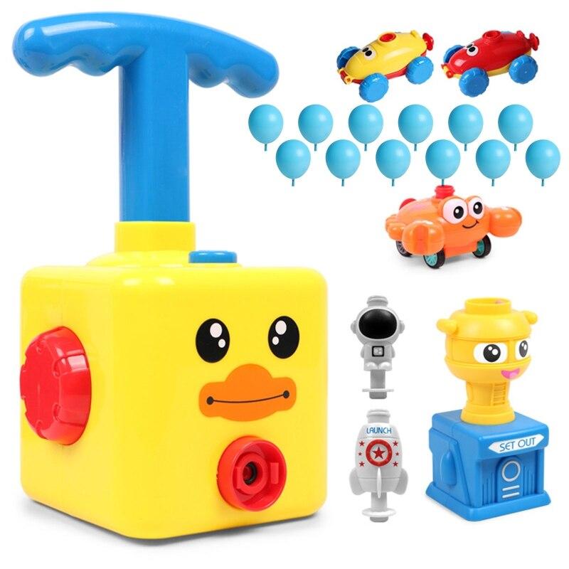 Горячие игрушки развивающие наука Мощность автомобиль детские игрушки Монтессори игрушки для экспериментов инерционная Запуск башня Маши...