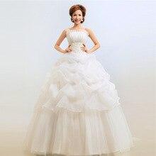 Vuelos De talla grande De hilo De la boda Vestido De encaje vestido en gasa para Novia Vestidos, trajes De Novia rojo caramelo Color Champagne