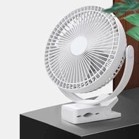 new clip fan battery operated 8 inch 10000mah rechargeable fan for baby portable cooling usb fan for baby stroller golf cart car
