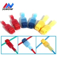 102030 pairs quick electrical cable connectors snap splice lock wire terminal crimp wire connector t tap electrical connector