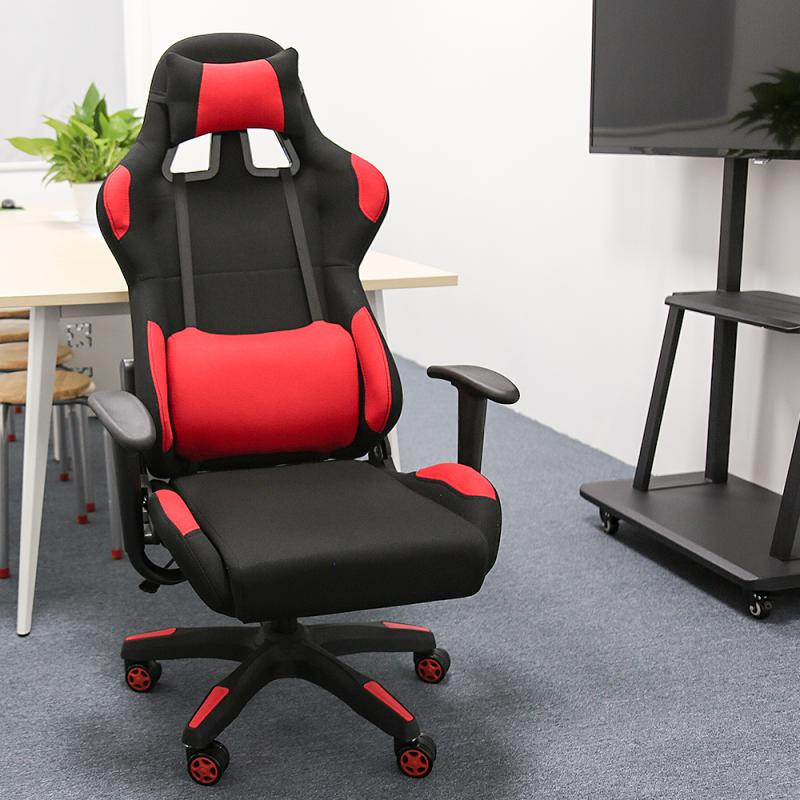 homall ribbed office chair mid back pu leather executive conference desk chair adjustable swivel chair with comfortable arms Office Chair Swivel Gaming Chair Computer Chair with High Back Game Chairs Adjustable PU Leather Seat for Office Chair Furniture