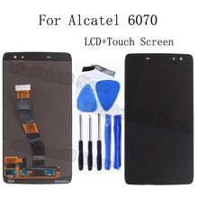 "5.55"" For Alcatel vodafone idol 4S OT6070 6070k 6070y 6070 LCD Display Touch Screen Digitizer Full Assembly OT 6070 Repair kit"
