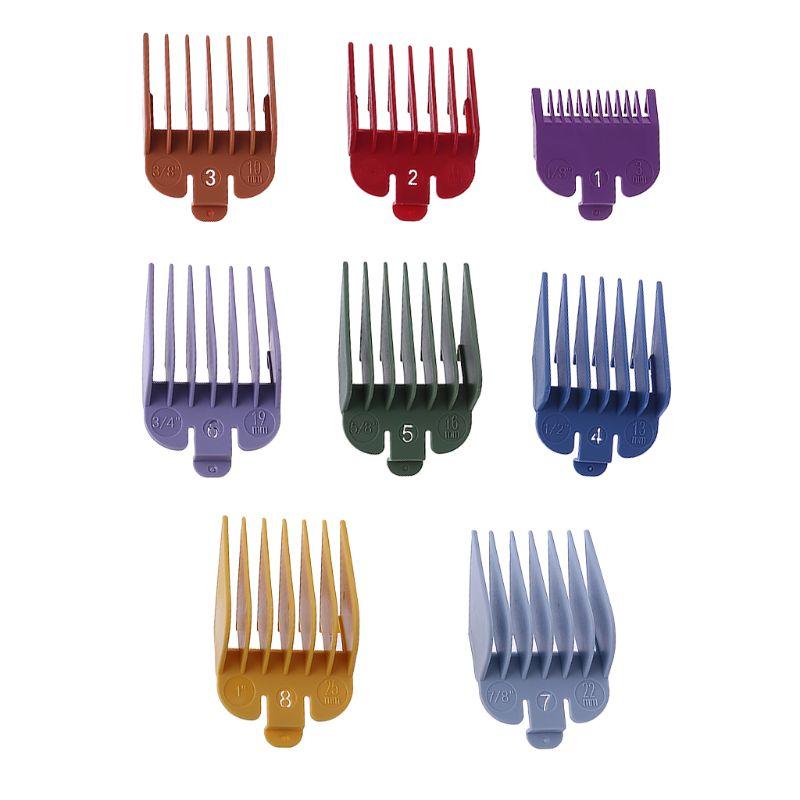 8P универсальная машинка для стрижки волос ограничитель гребень направляющая насадка Размер Парикмахерская Замена для Wahl с зажимом 3171/500 1/8 дюйма до 1 дюйма набор 4XFB