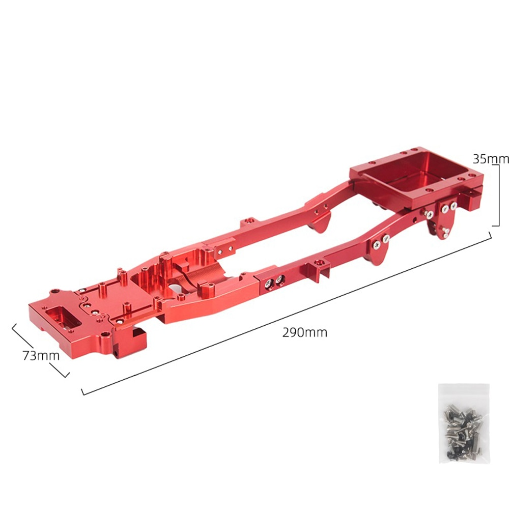 DIY Metal rc body chassis kit frame accessories fits for wpl d12 1/10 rc car upgrade parts Modified Upgraded Accessory r604s enlarge