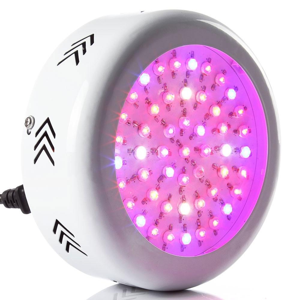 UFO 150W Full Spectrum LED Grow light LED Lamp UV IR Grow Tent Lighting For Flowering Plant and Hydroponics Grow box