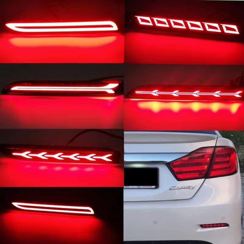 1 Juego de Reflector para Toyota RAV4 2019 2020 luces LED de freno traseras para Toyota Camry 2006 - 2014