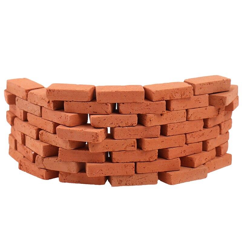 Brique de simulation miniature, à monter soi-même, brique de paysage, table de sable, diorama, offre spéciale 50 pièces, 1/16