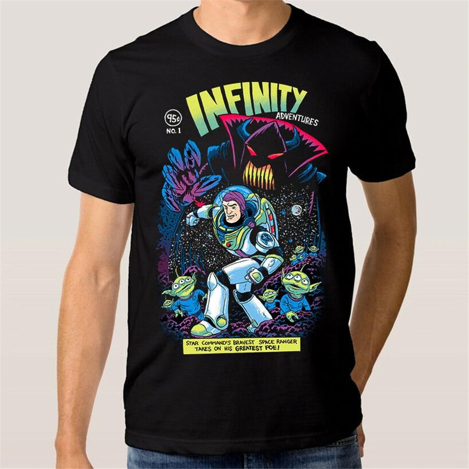 Camiseta Buzz Lightyear Comics artísticos, camiseta Toy Story, camiseta colorida de todas las tallas