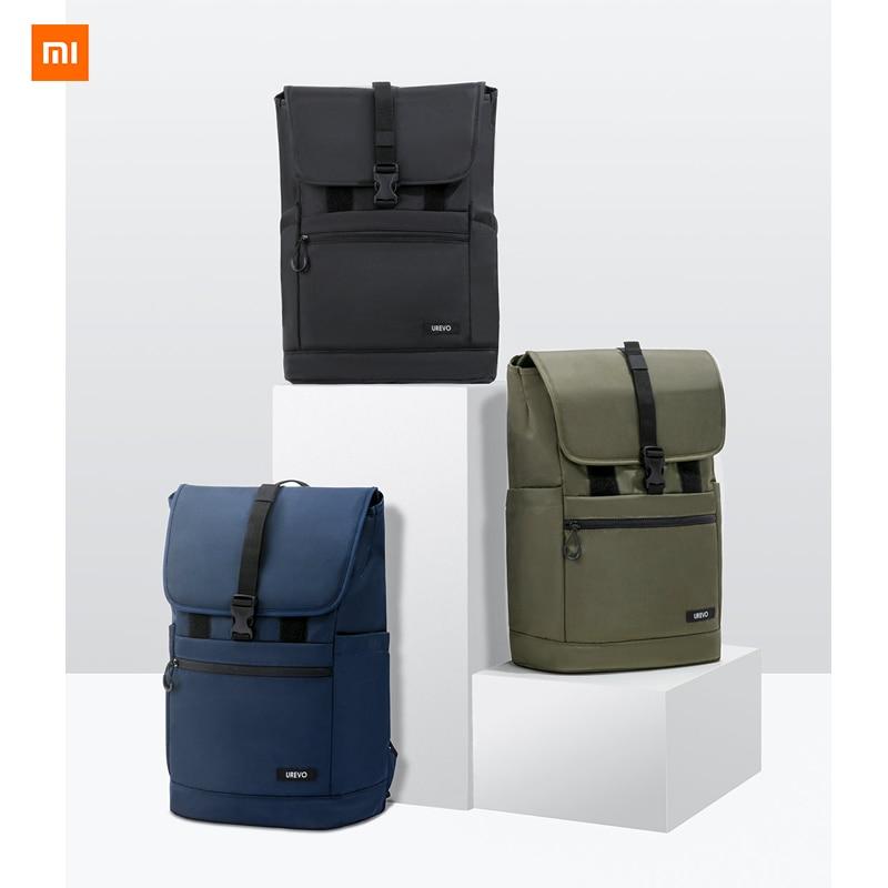 حقيبة ظهر شاومي Youpin UREVO الحضرية الترفيهية خفيفة الوزن ، ومناسبة لمشاهد متعددة ، وتصميم صدفي كلاسيكي