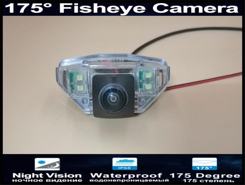 Cámara de ojo de pez de 175 grados, 1080P, vista trasera de coche para Honda CRV 2007 2008 2009 2010 Nuevo ajuste (hatchback) 2008 -2011