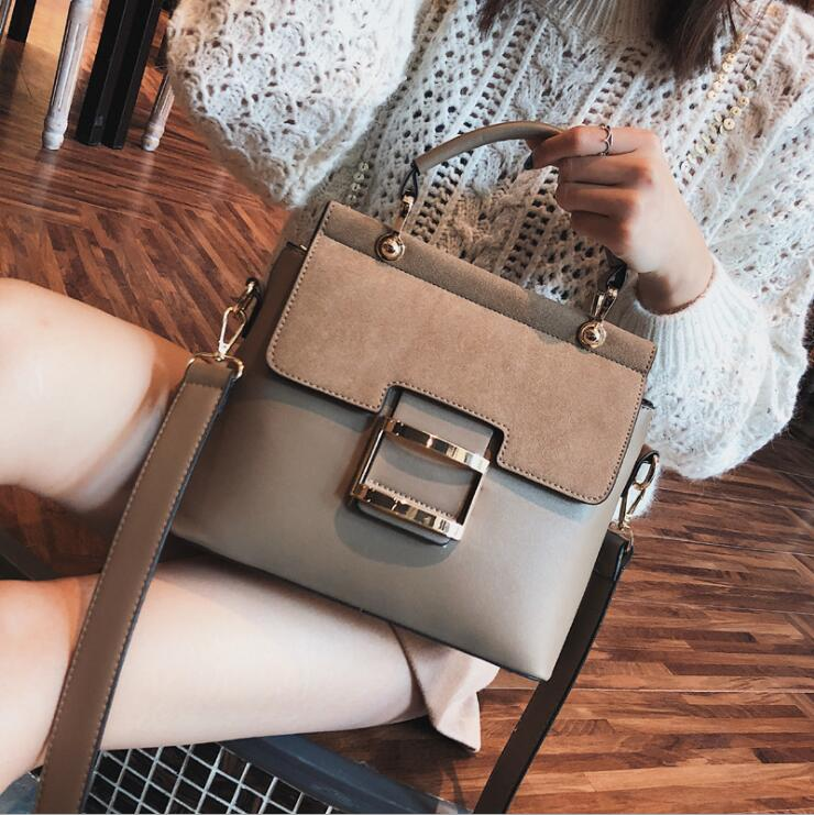dizhige brand 2017 spring summer fashion crossbody bags single shoulder bags ladies pu leather bags women handbags new sac femme Women Bag Vintage Shoulder Bags 2020 Buckle PU Leather Handbags Crossbody Bags For Women Bag Famous Brand Spring Sac Femme