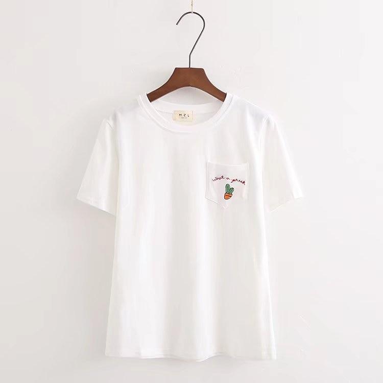 Print Cotton Casual Funny T Shirt Lady Top Tee T Shirt Women Summer Fashion
