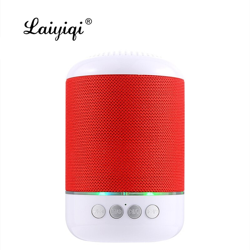 Tela de columna de Laiyiqi tela de altavoz Bluetooth portátil BT FM...