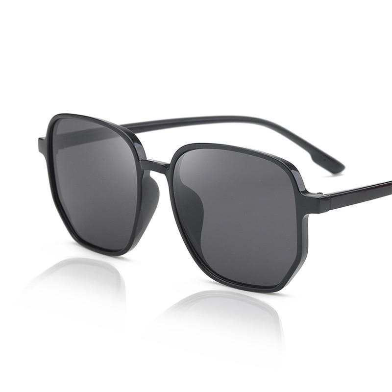Polygon Shades Sunglasses For Women Ocean Lens Luxury PC Frame Eyeglasses Colorful Sun Glasses Trend Versatile Glasses UV400 outdoor full frame flat lens sun shades sunglasses