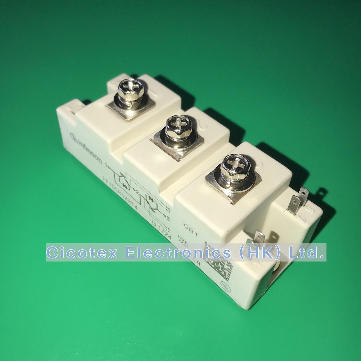 FF100R12RT4 IGBT модуль FF 100R12 RT4 VCES 1200V 100A FF100R12RT4HOSA1