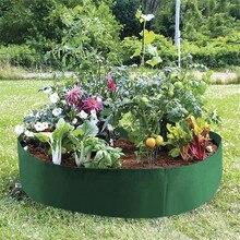 Round Garden Grow Bag garden  Raised Plant Bed Garden Flower Planter Elevated Vegetable Box jardin jardim jardinage ogrod