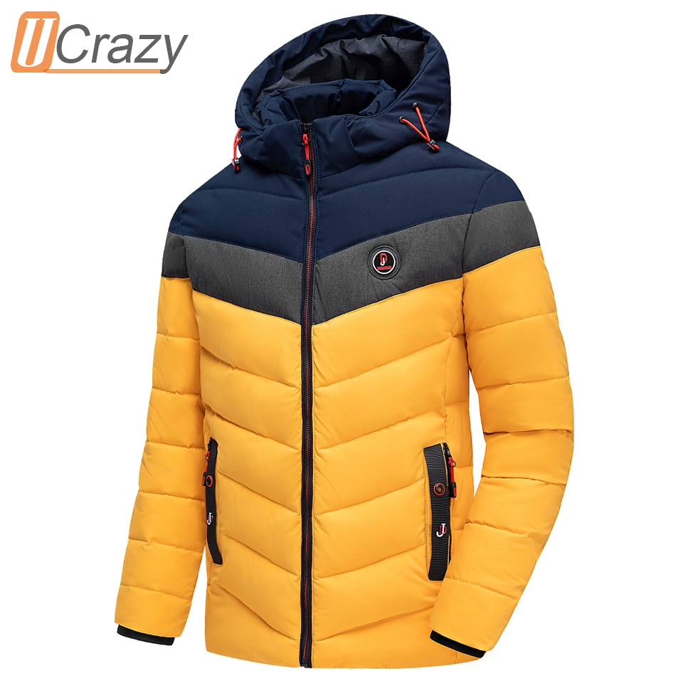 Men 2020 Winter Brand New Casual Warm Thick Waterproof Jacket Parkas Coat Men New Autumn Outwear Windproof Hat Parkas Jacket Men