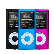 MP4 Player FM Portable Radio Game Console Txt E-book Ultrathin MP3 Player Music Player Audio Voice R