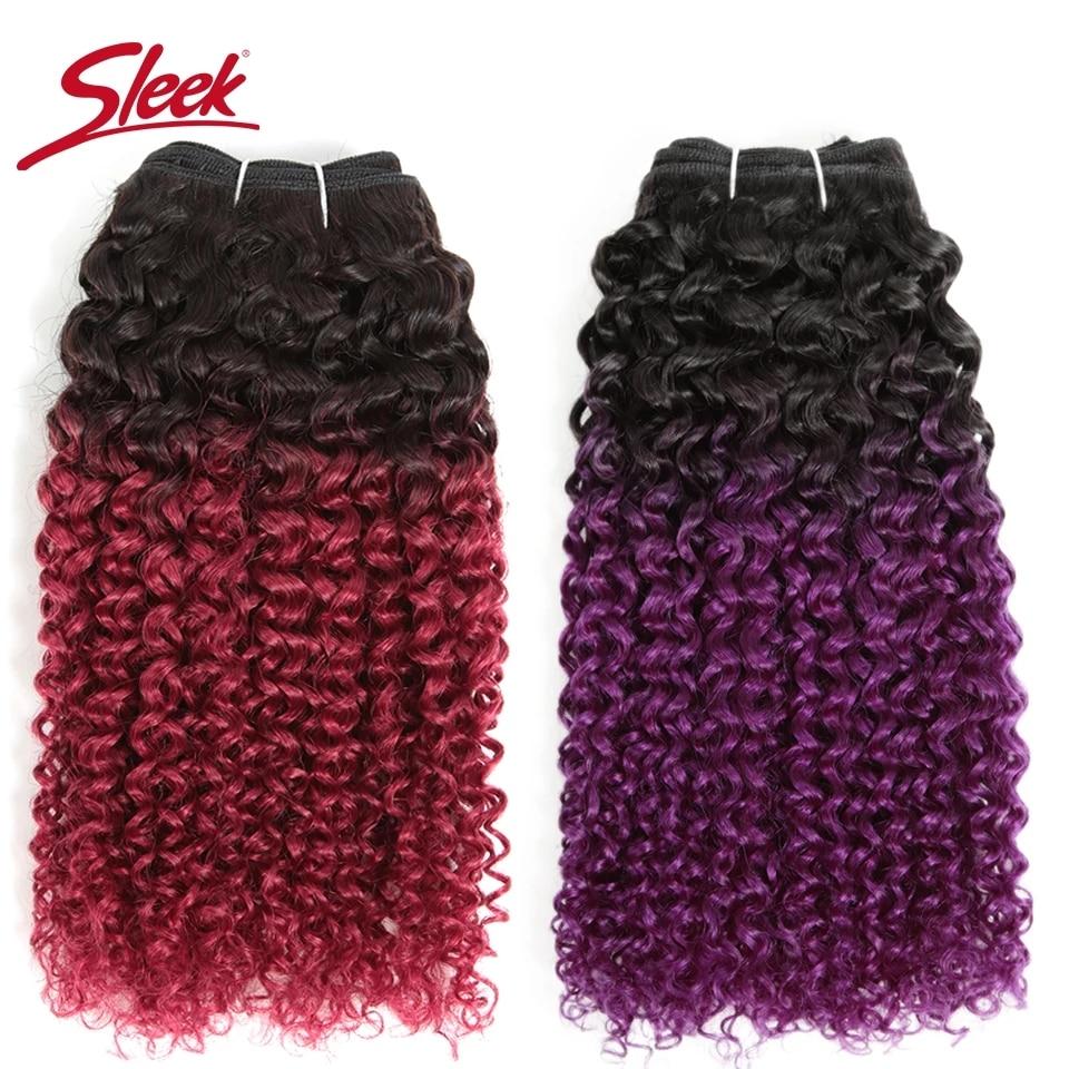 sleek brasileiro encaracolado cabelo humano encaracolado feixes duplo desenhado cabelo
