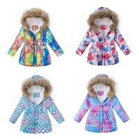 kids girls jackets 2021 autumn winter jacket for girls coats baby warm hooded outerwear coat girl clothing children down parkas