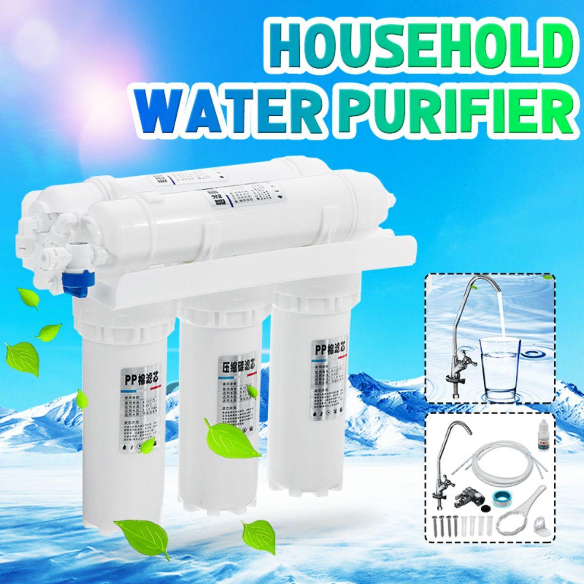 الترشيح الفائق نظام فلتر لمياه الشرب 3 + 2 المنزل المطبخ شرب صنبور الصنبور معالجة المياه لتنقية مع مجموعات خرطوشة