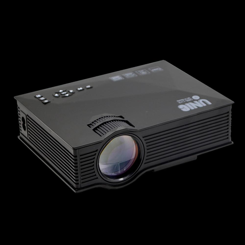 Proyector LED portátil Original UNIC UC68 UC68H 1800 lúmenes 80 110 ANSI HD 1080p proyector de vídeo Full HD Beamer para cine en casa