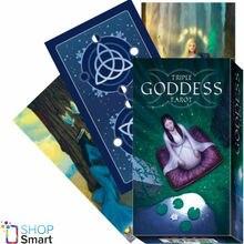 Magische tarot deck Englisch edition mysterious tarot karten triple göttin Brettspiel familie party karten spiel