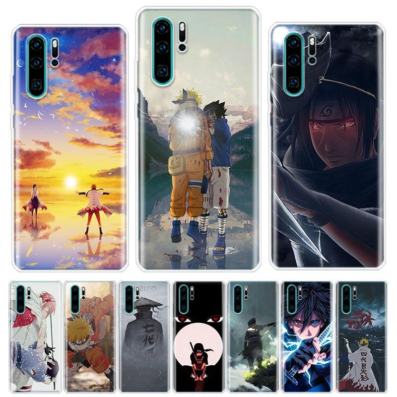 Anime Naruto Haruno Sakura Phone Case For Huawei Honor Y5 Y6 Y7 Y9 Y9 9 10 20 Lite Pro 7A 7X 8S 8X 8A 9X 1020i 2019 Cover Shell