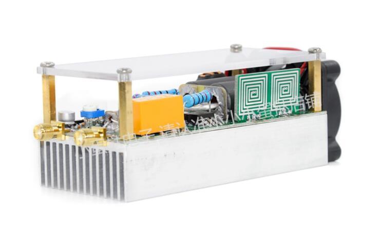 3 ~ 30Mhz 100w الموجات القصيرة السلطة مكبر للصوت HF مكبر للصوت RF ل QRP FT817 KX3 /Xiegu X5105 G90S G1M/KN-Q10 + الاكريليك حالة + مروحة