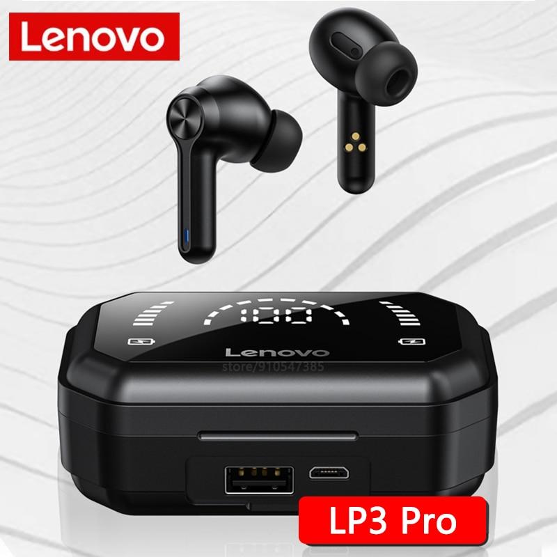 Original Lenovo LP3 Pro Bluetooth V5.0 Wireless Headphones In Ear TWS Earphone with Microphone Hifi