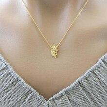 Aussie Animal Koala Charm Necklace Baby Bear Kolye Jewelry Collar Colar Stainless Steel Gold Color Chain Best Friend Gift Bijoux