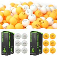 6Pcs/pack 3 Star Ping Pong Balls 40mm/1.57i Diameter 2.9g Table Tennis Ball For Professional Competition Training