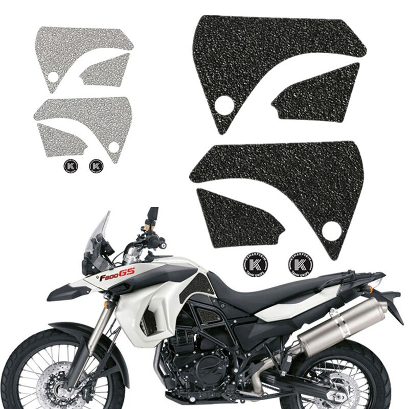 new 3d gel fuel tank side protection sticker fuel tank deca0ls racing kit sticker for bmw f850gs f850 gs 2020 For BMW F800GS F 800GS f800gs 2009-2012 Motorcycle 3D Fuel Tank Sticker Side Anti Slip Tank Decal Stickers Protection Pad