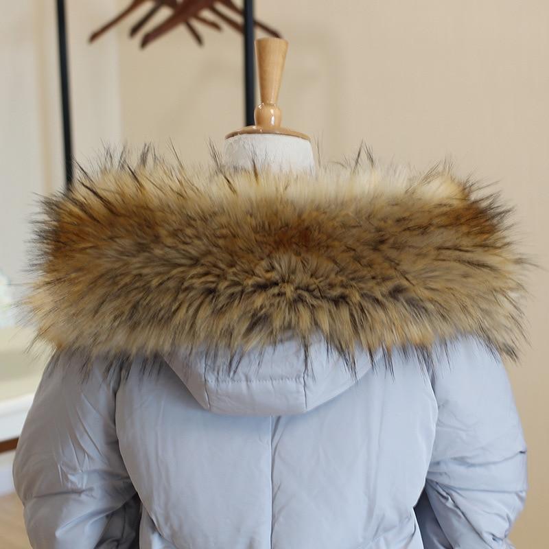 AliExpress - Fur Collar Faux Fur Trim Hoodie Custom Made Fur For Hood Collar Shawl Down Coat Hood Fur Decor Warm Scarf мех для капюшона