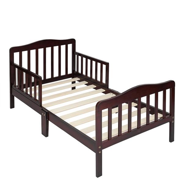 Wooden Toddler Kids Beds Children Bedroom Furniture with Safety Rails Fence Guardrails Sleeping Bed multi-functional Bed