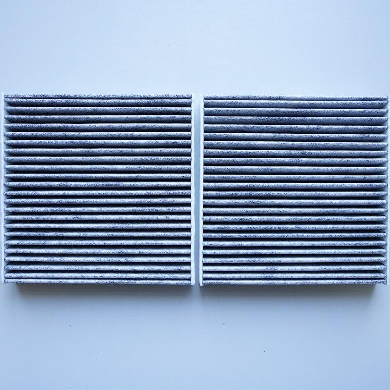 Filtros de cabina para BMW F25-X3 20 iX 28 iX 35 iX, 2011 (bucle exterior/PAR) X3 (F25) 20i 28i 35i 30d OEM 64319237158 # ST212C