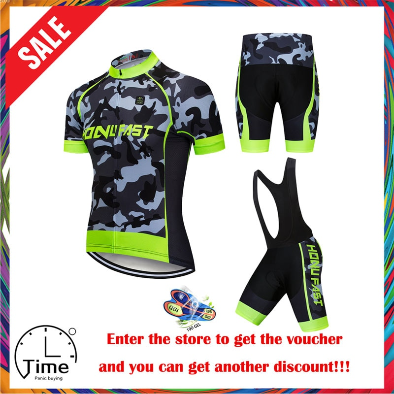 Conjunto de camisa de ciclismo 2020 verão men ciclismo roupas corrida bicicleta terno respirável mtb bicicleta roupas ropa