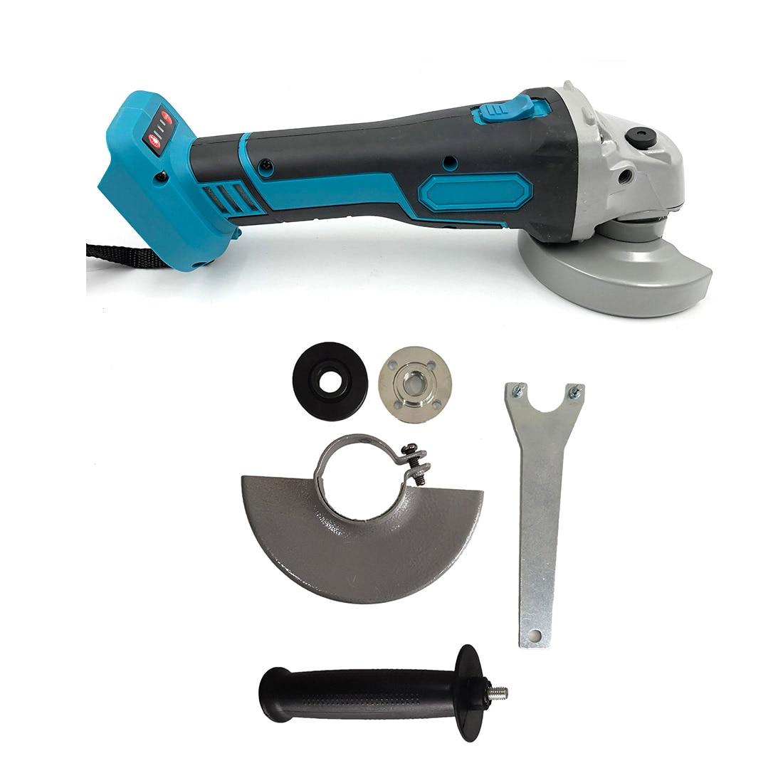 Corpo sem escova sem fio do moedor de ângulo nenhuma bateria para makita 18-21 v brandnew e de alta qualidade