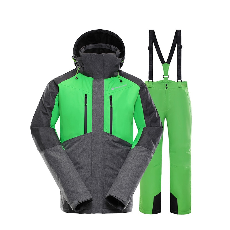Winter Ski Suit Warm Snowboard Jacket Men Women Waterproof Outdoor Sports Snow Jackets and Pants Skiing Clothes Brands Suits