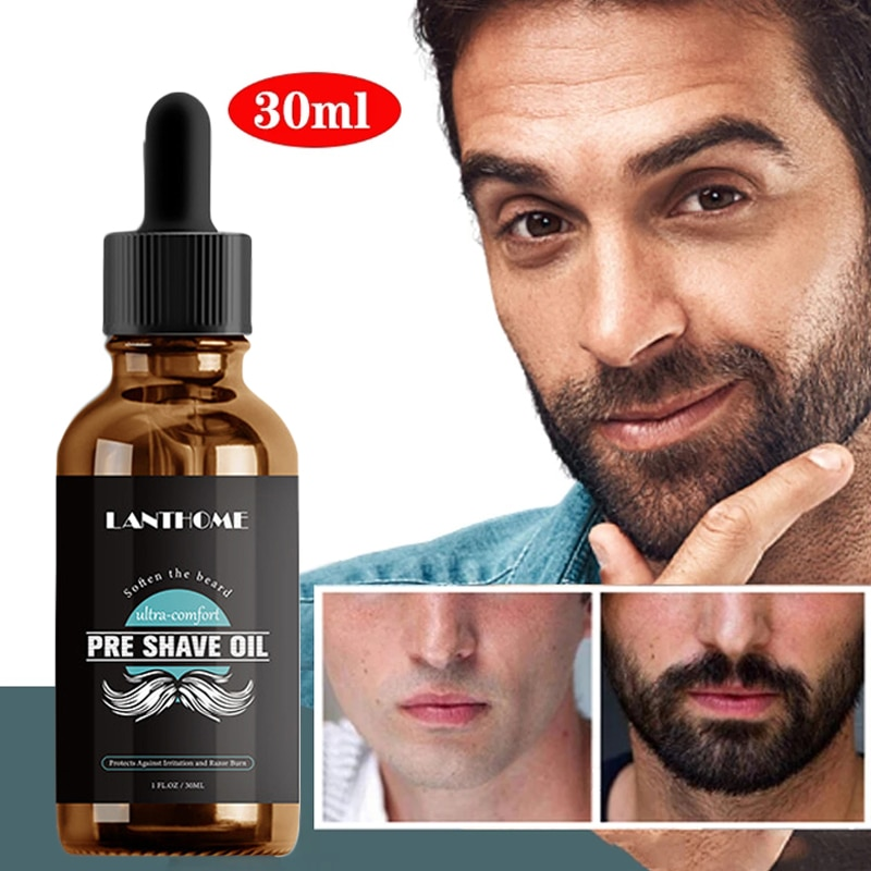 Men's Beard Essential Oil Plant Formula Beauty Makeup Skin Care Men's Products SANA889