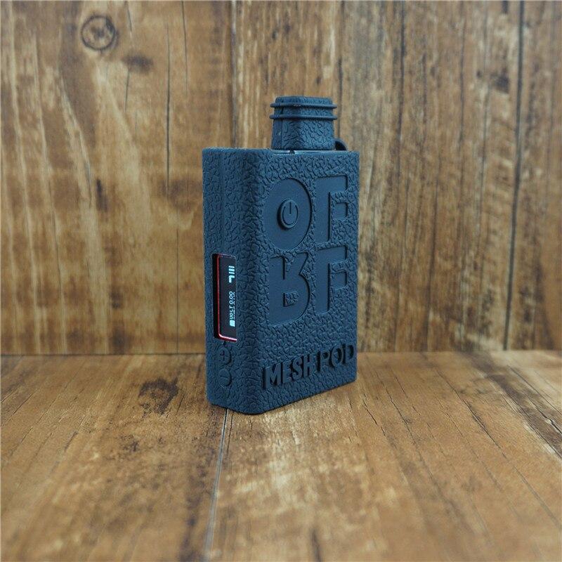 Funda de silicona para Smok OFRF NEXMESH, kit de 30W, funda con textura, funda protectora de goma, 2 uds
