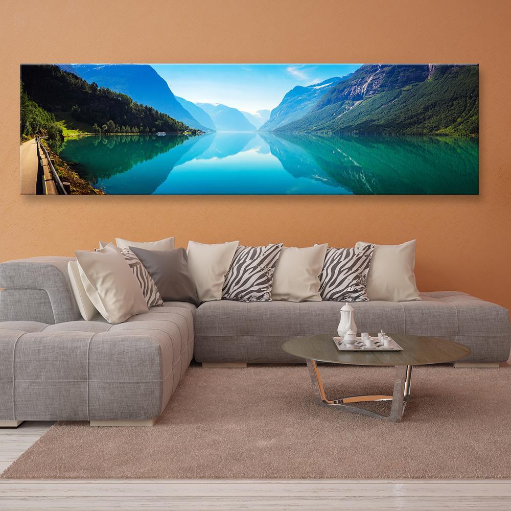 Grande 5D DIY pintura de diamante lago bosque paisaje punto de cruz diamante redondo/cuadrado completo iconos de bordado de diamantes de imitación
