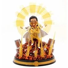 26cm Anime ONE PIECE Figures Navy Headquarters Senior General Yellow Ape Borsalino Action Figure GK Resin Statue Model Toys