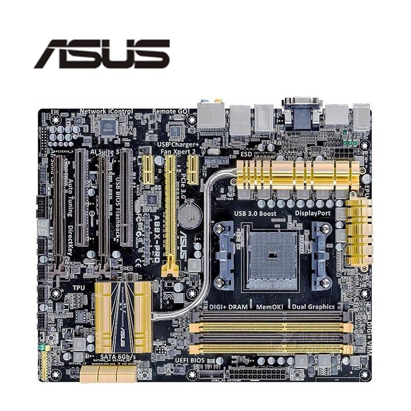Para ASUS A88X-PRO placa base FM2 FM2 + DDR3 para AMD A88XM A88 placa base de escritorio Original SATA III placa base usada