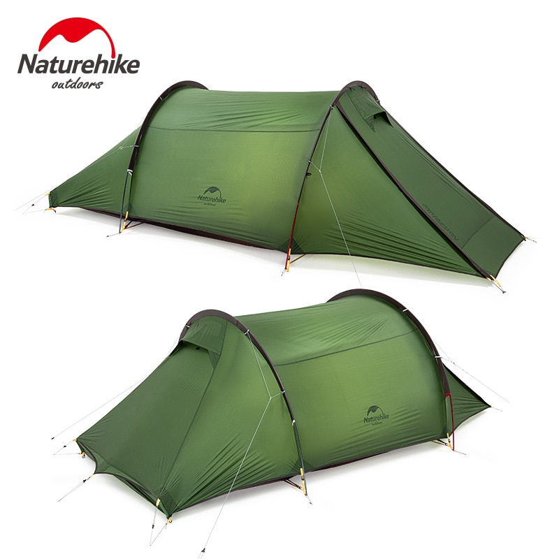 Naturehike في الهواء الطلق التخييم 2 الناس 20D للماء المشي 4 مواسم السفر خيمة واحدة غرفة خفيفة المحمولة خيمة الطبيعة تنزه