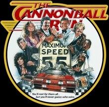 80 Burt Reynolds classique le boulet de canon courir affiche Art t-shirt personnalisé toute taille