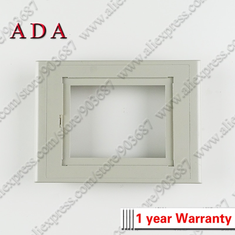 Capa frontal caso habitação escudo para 6av6 653-2ba01-0aa0 6av6653-2ba01-0aa0 tp177b plástico quadro capas frontais casos