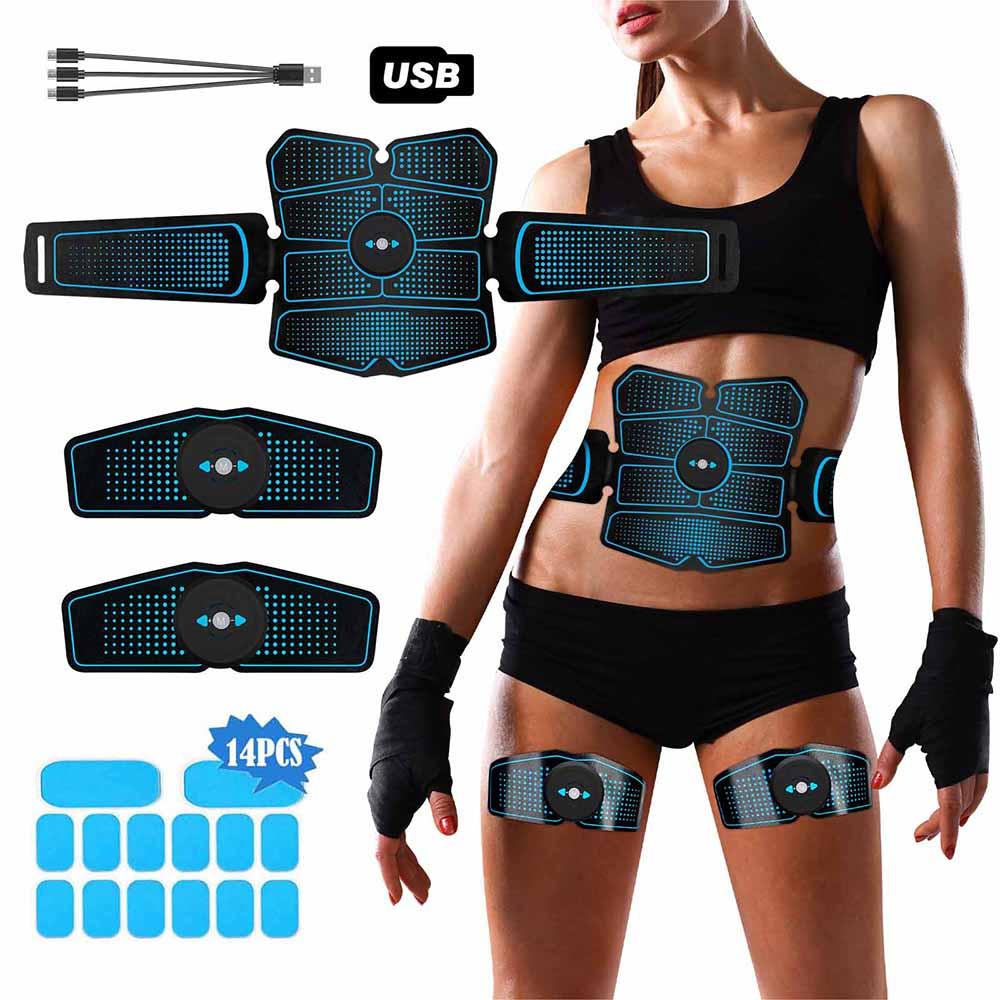 ems-masajeador-muscular-abdominal-estimulador-muscular-electrico-para-brazos-y-gluteos-abs-entrenador-electroestimulador-vibradores-con-almohadillas-de-gel-14-uds