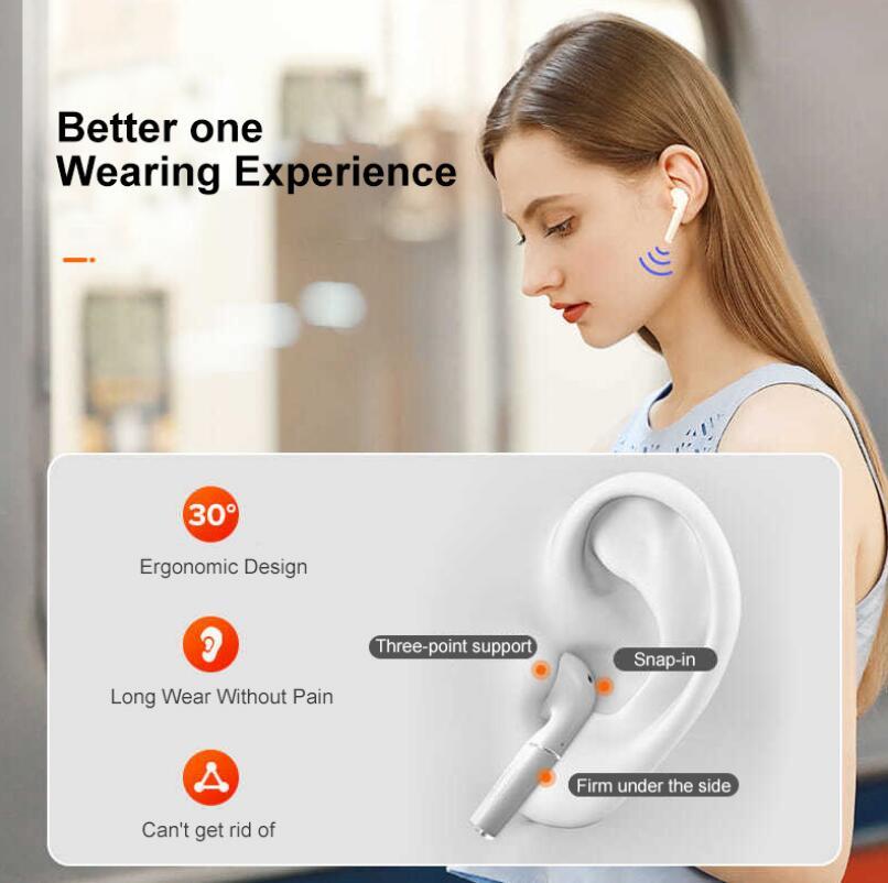P23 Wireless Headphones In-ear Headset Bluetooth Earphone Waterproof Earbuds 5.0 TWS enlarge
